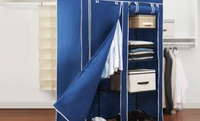 "$39.99 for a Simplify 48"" Portable Closet at  Simplify 48"" Portable Closet"
