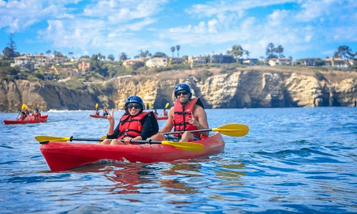 Bike & Kayak Tours - La Jolla Shores: 90-Minute Double-Kayak Rental or 90-Minute Double-Kayak Tour for Two from Bike & Kayak Tours (Up to 51%)