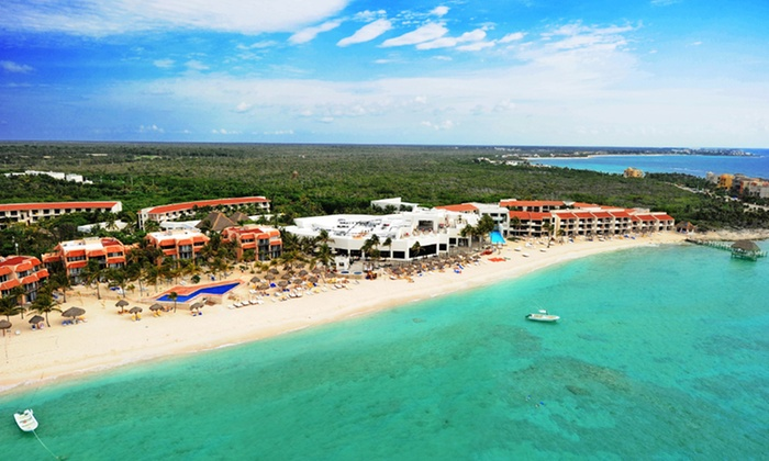 Grand Oasis Tulum - Riviera Maya, Mexico: All-inclusive Stay for Two at Grand Oasis Tulum in Mexico; Dates Available into December. Includes Taxes and Fees.