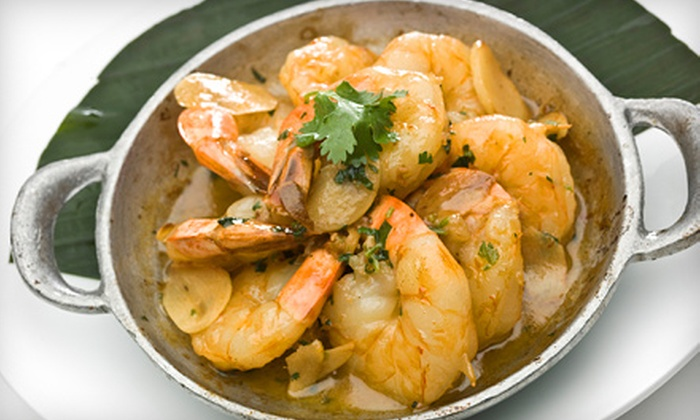 Mambo Restaurante Nuevo Latino - Byward Market - Parliament Hill: Latin American Fusion Lunch or Appetizers with Margaritas or Sangria at Mambo Restaurante Nuevo Latino (Half Off)