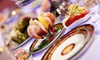 Mirage Restaurant - Vaughan: Russian Dinner for Two, Four, Six, or Eight at Mirage Restaurant (Up to 56% Off)