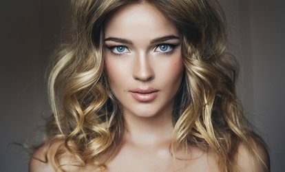 image for Cut, Wash and Finish or a Cut and Finish with Root or Top-Section Colour at Icons/Styling (Up to 66% Off)