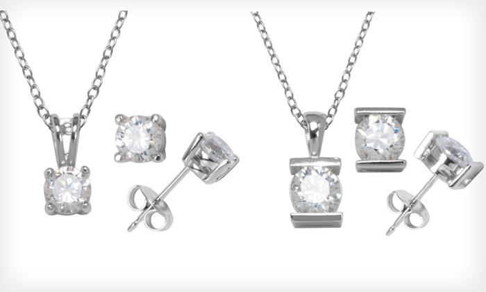 Cubic-Zirconia Jewelry: Cubic-Zirconia Jewelry (Up to 80% Off). Five Options Available. Free Shipping on Purchases of $15 or More. Free Returns.