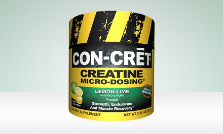 72-Servings Con Cret Lemon Lime Creatine Dietary Supplement