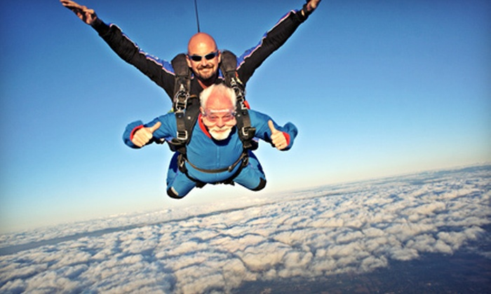 Start Skydiving - Middletown: $119 for a Tandem Skydiving Jump from Start Skydiving (Up to $259 Value)