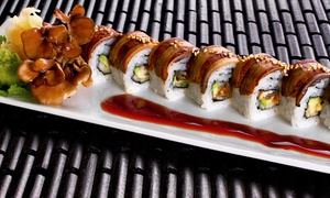 Nitrogen Bar, Grill, and Sushi: Sushi and Asian Inspired Gastropub Cuisine for Two or Four at Nitrogen Bar, Grill, and Sushi (Up to 50% Off)