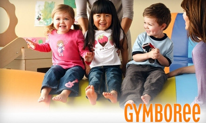 Gymboree Play & Music - Multiple Locations: One- or Two-Month Enrollment Package, or One-Month Enrollment and Party Package at Gymboree Play & Music (Up to 57% Off)