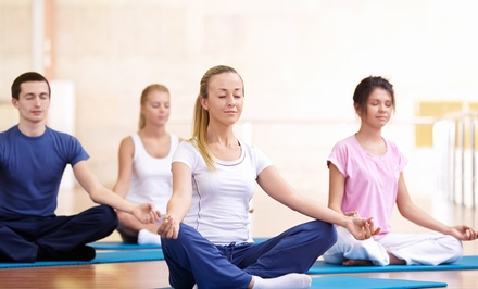 20 or 40 Yoga Classes at The Lotus Circle (Up to 89% Off)