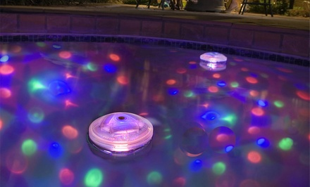 Floating Multicolor Disco Light Groupon Goods
