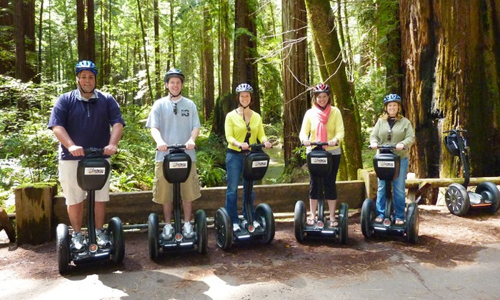 Segway of Healdsburg - Segway of Healdsburg: $54 for a Russian River Winery Deluxe Segway Tour from Segway of Healdsburg ($99 Value)
