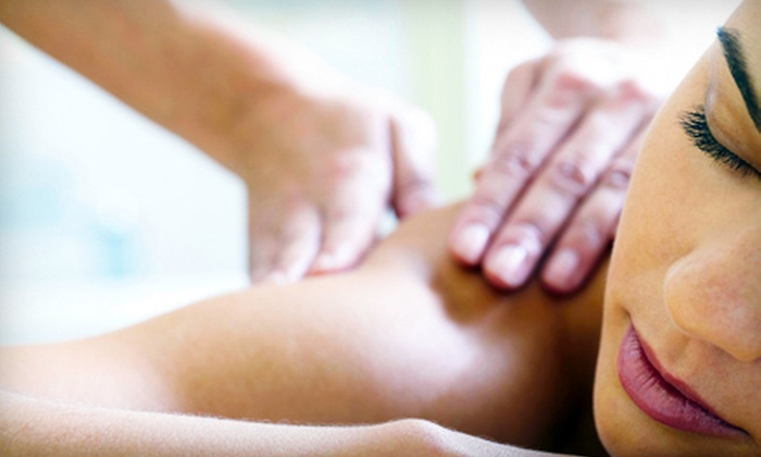AgeLoc Day Spa - West Rockville: Acupressure Massage and Reflexology, or Hot-Stone Massage and Facial at AgeLoc Day Spa in Rockville (Half Off)