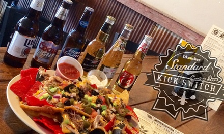 Up to 50% Off Lunch or Dinner at Kick Switch