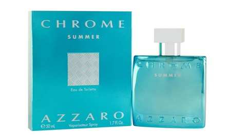 Azzaro Chrome Summer Edition Eau de Toilette for Men; 1.7 Fl. Oz