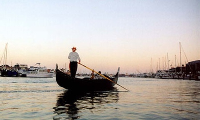 Gondola Company of Newport - West Newport Beach: $59 for a Gondola Cruise for Up to Four People from Gondola Company of Newport (Up to $115 Value)
