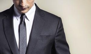 FIRMA HANDLOWA NEW LINE ADRIANO ZDUNEK ADRIAN: Moda męska: 49,99 zł za groupon wart 200 zł na zakup garnituru i więcej opcji w Adriano Calitri