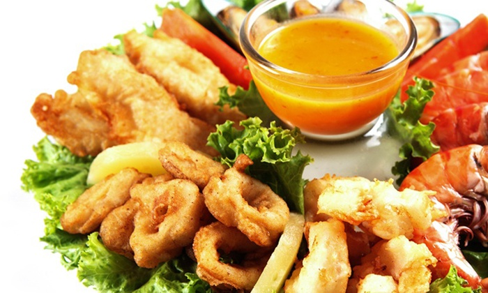 Fish Place  - Multiple Locations: Cajun-Style Seafood at Fish Place (Up to 44% Off). Four Options Available.