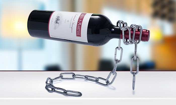 Sacred Wine: $19 for One Magic Chain Wine Bottle Holder ($39.99 Value)