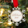 Up to 83% Off Personalized Holiday Ornaments