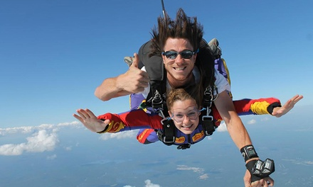 $189 for a Tandem Parachute Jump for One with Adrénaline Group ($299 Value), 4 Locations