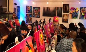 Blackbird Gallery and Art Studio: BYOB Painting Night for One or Two at Blackbird Gallery and Art Studio (Up to 55% Off)