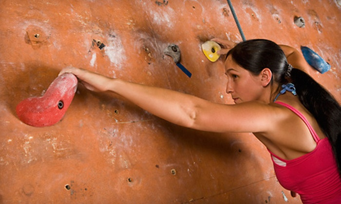 Elite Climbing - Maple Shade Township: Beginner's Climbing Package with One Month Membership for One or Two at Elite Climbing in Maple Shade (Up to 64% Off)