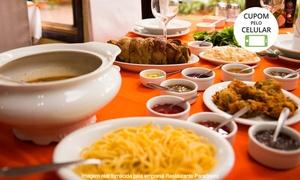 Restaurante Paradouro: Restaurante Paradouro – Nova Petrópolis (Serra Gaúcha): sequência alemã com rodízio de carnes para 2 ou 4 pessoas