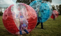 One-Hour Bubble Football for Up to 12 People with Pitch Hire at Sixes Football Centre