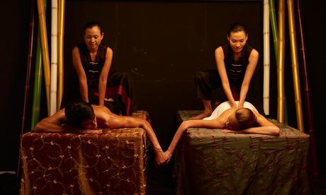 """Ritual de masaje tailandés en pareja 'Plata', """"Oro"""" o """"Platino"""" desde 55 € en Thai Room Spa"""