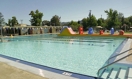 $15 for Five One-Day Pool Passes to Terra Linda Community Pool ($45 Value)