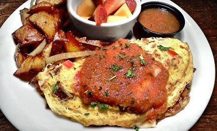 Diner Food for Breakfast or Lunch at Atomic Omelette and Grill (Up to 50% Off). Two Options Available.