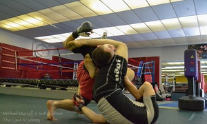 The Cave Academy: Four Weeks of Unlimited Brazilian Jiu-Jitsu Classes at The Cave Academy (62% Off)