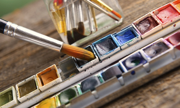 Watercolor with Aaron S. Bivins - Maumee: BYOB Watercolor-Painting Class for One or Two from Aaron S. Bivins at YouCanBeAnArtist.com (Up to 46% Off)