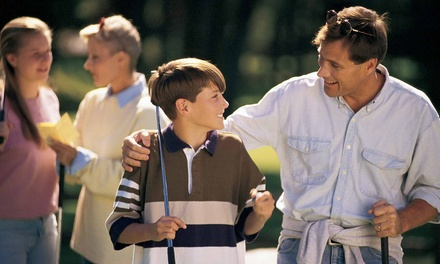 $25 for a Family Season Pass for Mini Golf at Blackbob Park Batting Cages & Mini Golf ($45 Value)