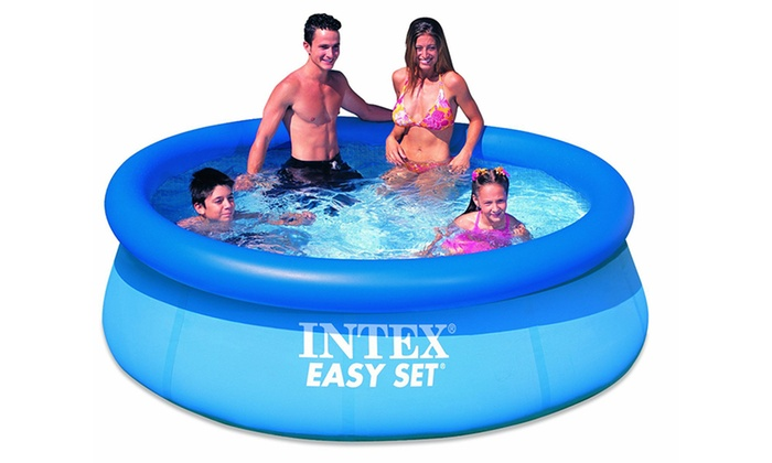 Intex easy set paddling pool groupon goods for Paddling pools deals