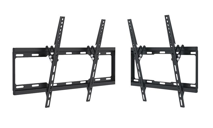 "Argom Fixed or Tilted TV Wall Mounts for 23""–47"" or 37""–70"" TVs"