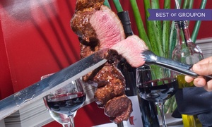 Rio's Steak House: Brazilian Steak-House Cuisine at Rio's Steak House (Up to 42% Off). Two Options Available.