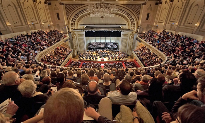 """Louis Conducts Mozart's Jupiter - Cincinnati Music Hall: """"Louis Conducts Mozart's Jupiter"""" at Music Hall on November 21 or 22 (Up to 66% Off)"""