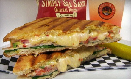 2 Large Coffees and 2 Breakfast Bagel Sandwiches or Breakfast Paninis (a $13 value) - Berrybean Cafe in Moreno Valley