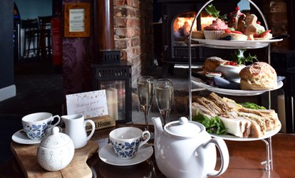 image for Festive Afternoon Tea with Prosecco for Two or Four at The Command House (Up to 69% Off)