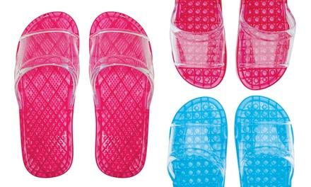 Hawaiian Breeze Waterproof Brush- or Bead-Style Acupressure Sandals