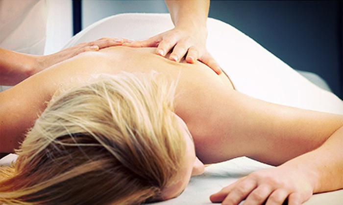May Budd at J.P. Verdisco Exercise Health & Fitness - Selden: 60- or 90-Minute Full-Body Massage from May Budd at J.P. Verdisco Exercise Health & Fitness (Up to 53% Off)