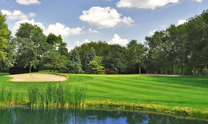 White Pines Golf Club - Bensenville: 18-Holes of Golf with Range Balls and Food/Beverage Credit for 2 or 4 at White Pines Golf Club (Up to 50% Off)