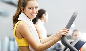 BelleFit Gym and Spa: Three Month Gym Membership and Joining Fee for One for R690 at BelleFit Gym and Spa (50% Off)