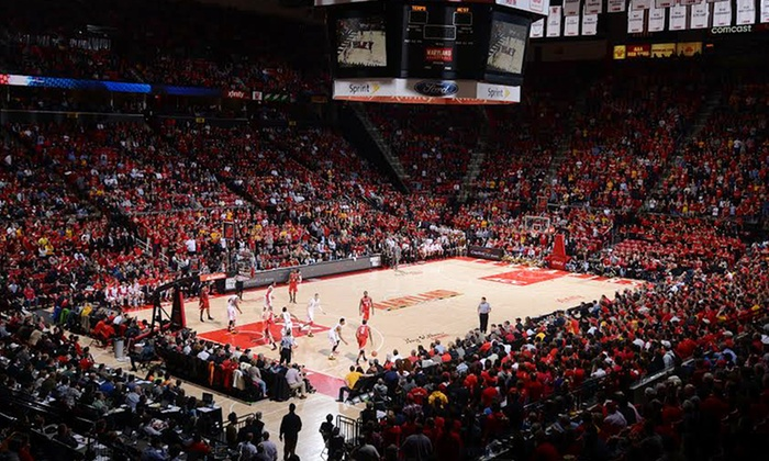 University of Maryland Men's Basketball - XFINITY Center: Maryland Men's Basketball Game and T-shirt at Comcast Center on December 21 or January 29 (Up to 51% Off)