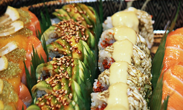 Oishii Too Sushi Bar - Sudbury: Sushi Meals for Two or Four with Edamame, Appetizers, and Sushi Rolls at Oishii Too Sushi Bar (Up to 52% Off)