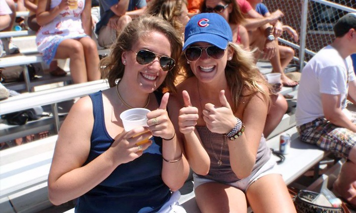Down the Line Rooftop - Down The Line Rooftop: All-Inclusive Rooftop Party for a Cubs game at Down the Line Rooftop (Up to 52% Off). 10 Games Available.