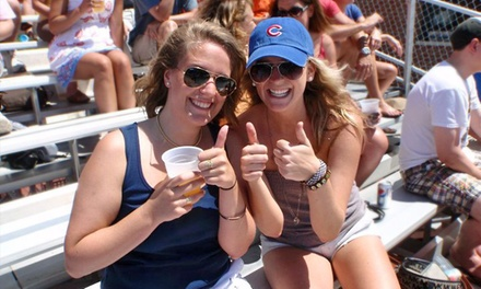 All-Inclusive Rooftop View of a Cubs Game at Down the Line Rooftop (Up to 63% Off). 12 Games Available.