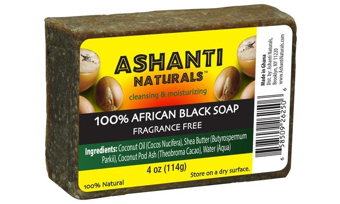 Ashanti Naturals Black Soap