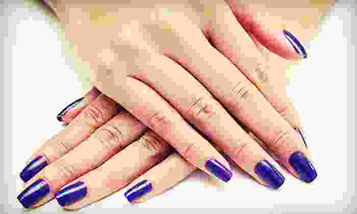Margene Walters at Salon Revolution - Downtown: Restorative Manicure with Optional Restorative Pedicure from Margene Walters at Salon Revolution (Up to 55% Off)
