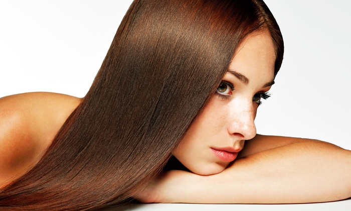 Shear Rhythm Hair Salon & Dance Studio - Long Beach: Haircut with Optional Coconut-Oil Treatment and Highlights at Shear Rhythm Hair Salon & Dance Studio (Up to 53% Off)